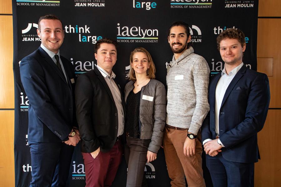 1er prix : équipe Slow & Ecolo, iaelyon et IAE Gustave Eiffel