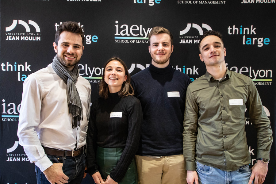 2ème prix : équipe Les Anges de la Mobilité de l'iaelyon