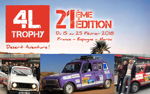 4L Trophy 2018 - Equipages iaelyon