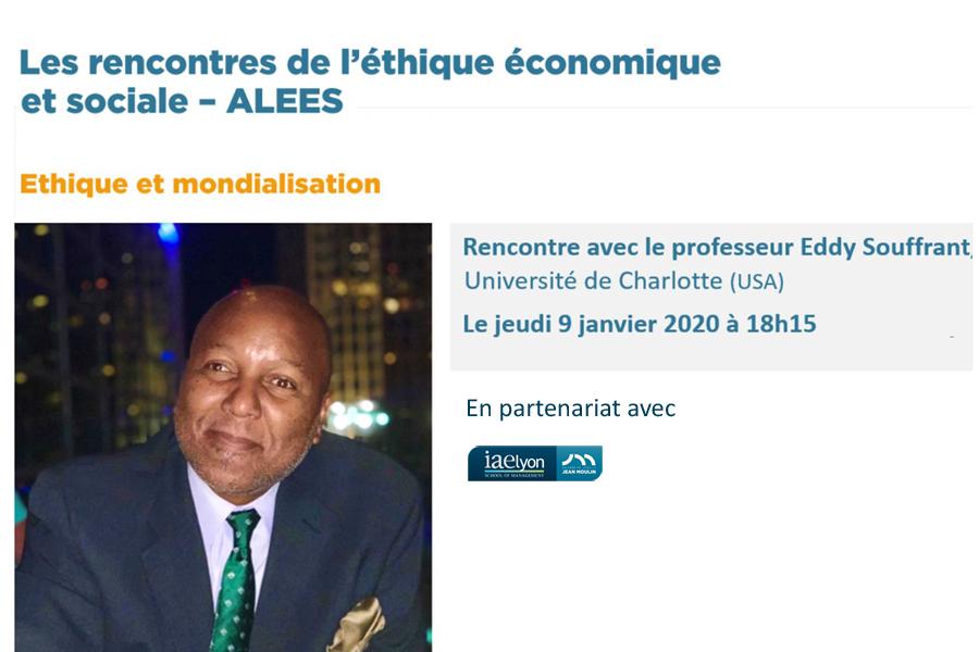 Etique et mondialisation - Rencontre ALEES en partenariat avec l'iaelyon