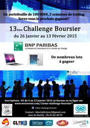 Challenge Boursier 2015