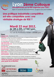 Colloque IFEC 2012