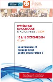 Gouvernance et management : quelle coopération ?