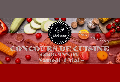 Challenge culinaire Cook'inov 2019