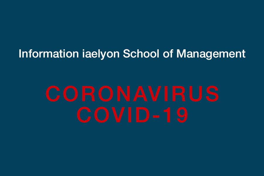 COVID 19] Informations iaelyon School of Management   iaelyon
