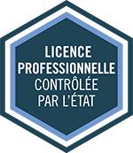 Licence Professionnelle contrôlée par l'Etat