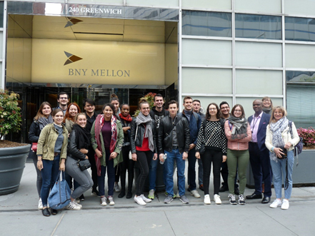 Visite de la New-York Bank of Mellon