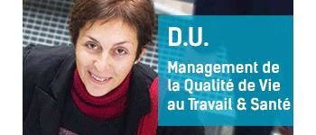 D.U. Management de la Qualité de Vie au Travail & Santé