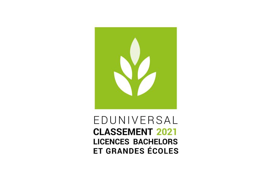 Classement Eduniversal 2021 - Licences
