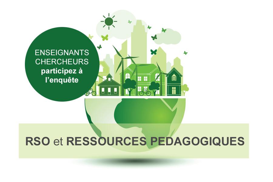 Enquête RSO et ressources pédagogiques