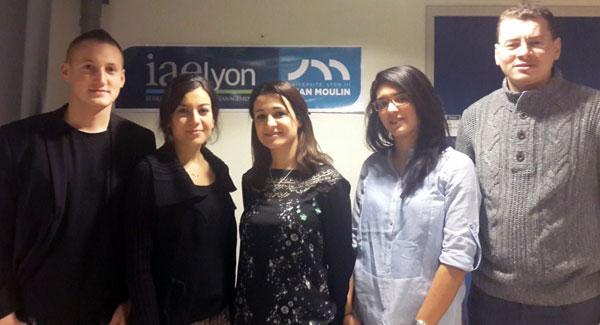 Equipe IAE Lyon - Global Management Challenge 2014