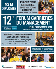 Forum Carri�res du Management 2012