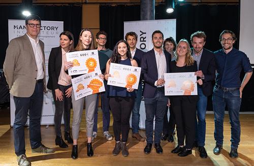 Concours J'M Entreprendre 2019 : 2 projets iaelyon primés