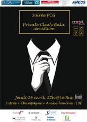 Soirée PCG - Private CLEA's Gala