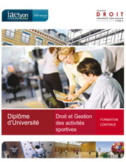 Formation gestion sport