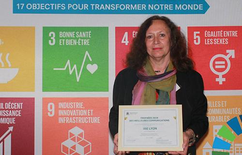un trophée Global Compact France pour l'iaelyon