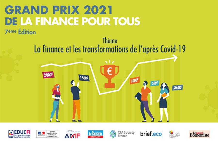 Grand Prix de la Finance Pour Tous 2021