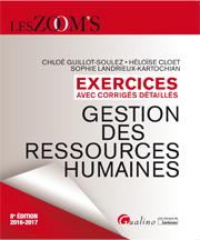 Exercices corrigés de gestion des ressources humaines 2016-2017