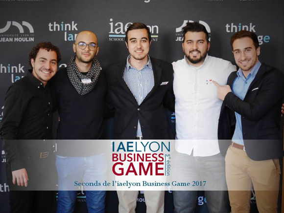 iaelyon Business Game 2017 - 2e Prix
