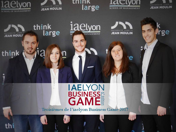 iaelyon Business Game 2017 - 3e Prix