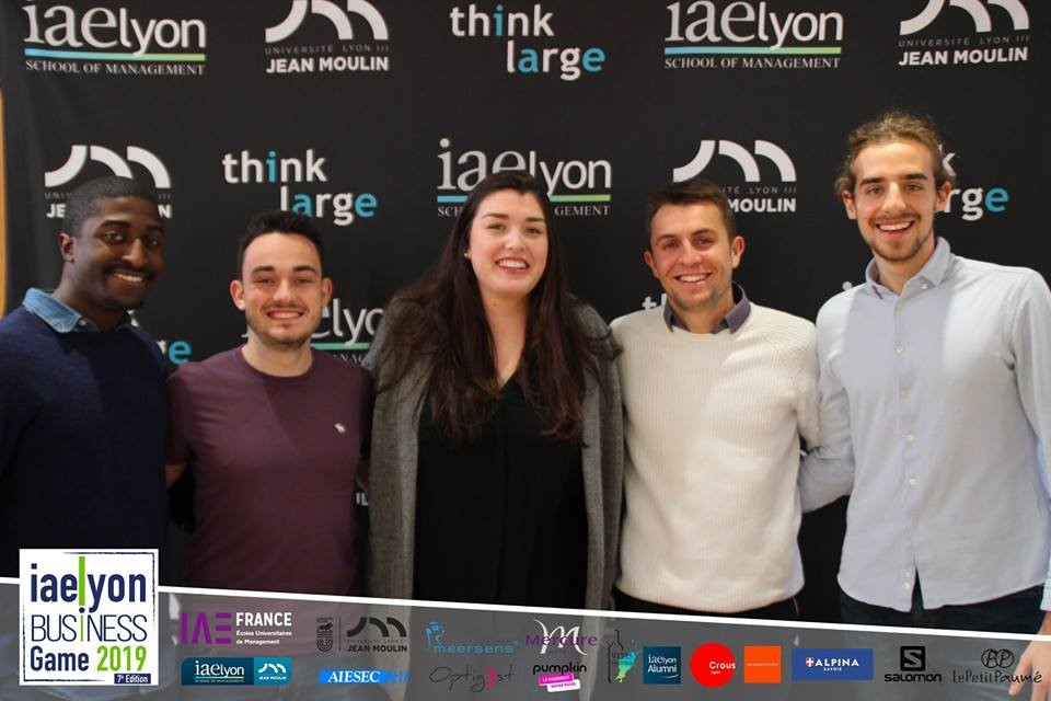 iaelyon Business Game 2019 - 3e prix