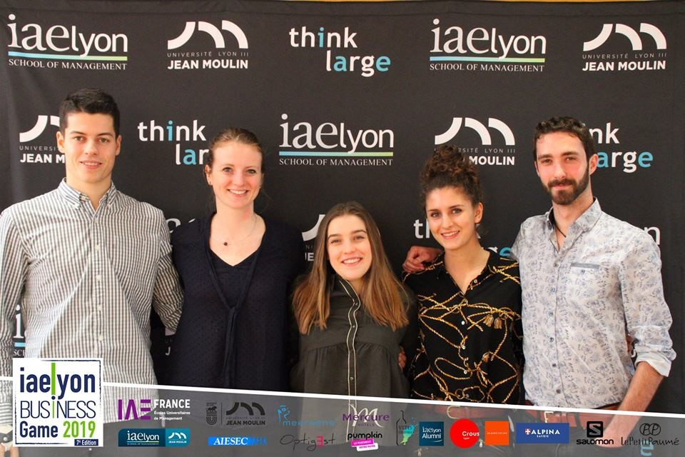 iaelyon Business Game 2019 - 2e prix