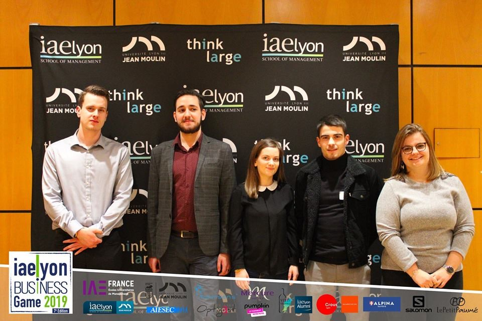 iaelyon Business Game 2019 - 1er prix