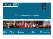 iaelyon : les Majors de Licence à l'honneur 2016