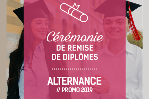 Remise de diplômes des Formations en Alternance 2020