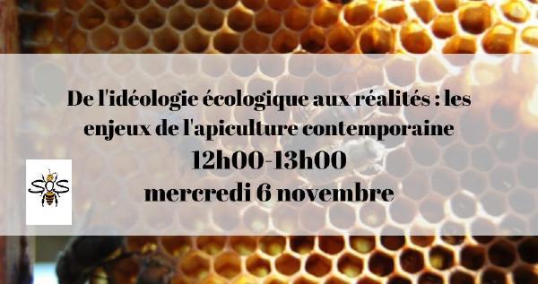 Invitation Conférence - les enjeux de l'apiculture contemporaine