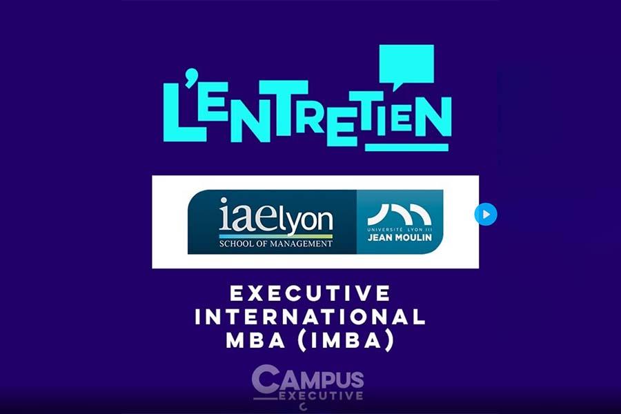 International MBA iaelyon : vidéo Campus Channel