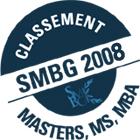 Classement SMBG 2008