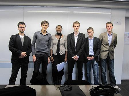 Les fondateurs d'IAE Lyon Junior Conseil