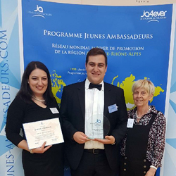 Trophées des Jeunes Ambassadeurs Auvergne-Rhône-Alpes 2017