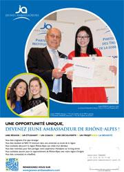 Jeunes Ambassadeurs Rhône-Alpes