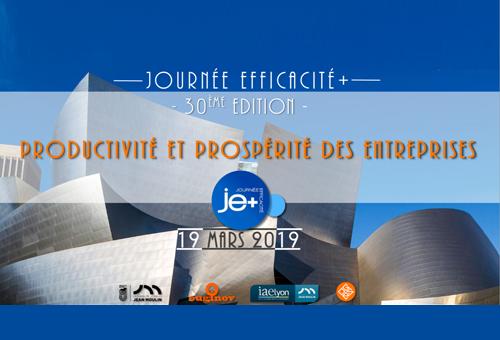 Productivité et prospérité des entreprises - 30ème Journée Efficacité +