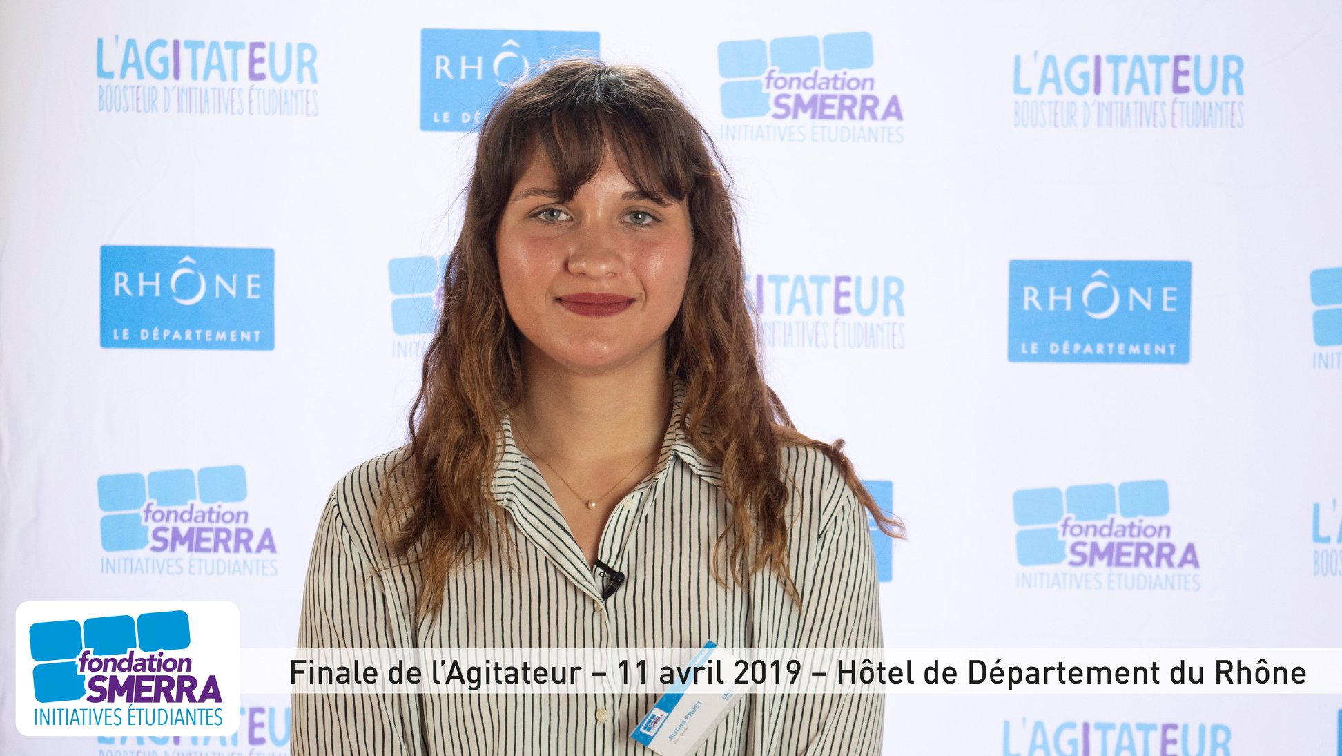Justine Prost, concours L'Agitateur - Fondation SMERRA