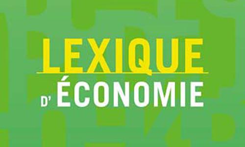 Lexique d'économie 2018