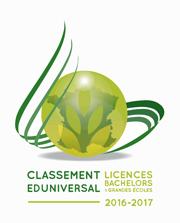 Classement Eduniversal Licences 2016-2017