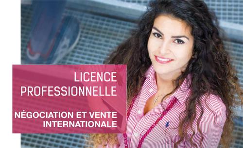 Licence Négociation et Vente Internationale