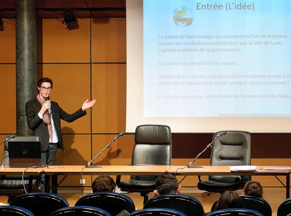 oncours Lyon 3 Entreprendre 2011 - 1er prix : Jules Bessard