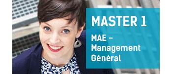 Master 2 MAE - Management Général