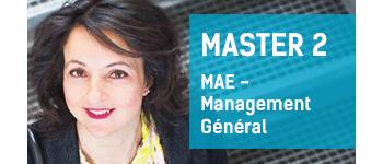 Master 1 MAE - Management Général