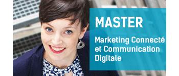 Master Marketing Connecté et Communication Digitale