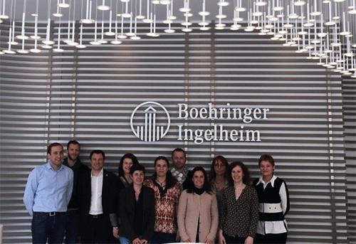 Visite Boehringer Ingelheim - Master RH Formation Continue
