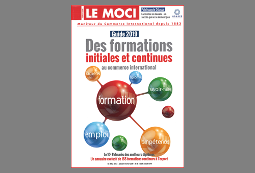 Classement MOCI 2019 des formations au commerce international