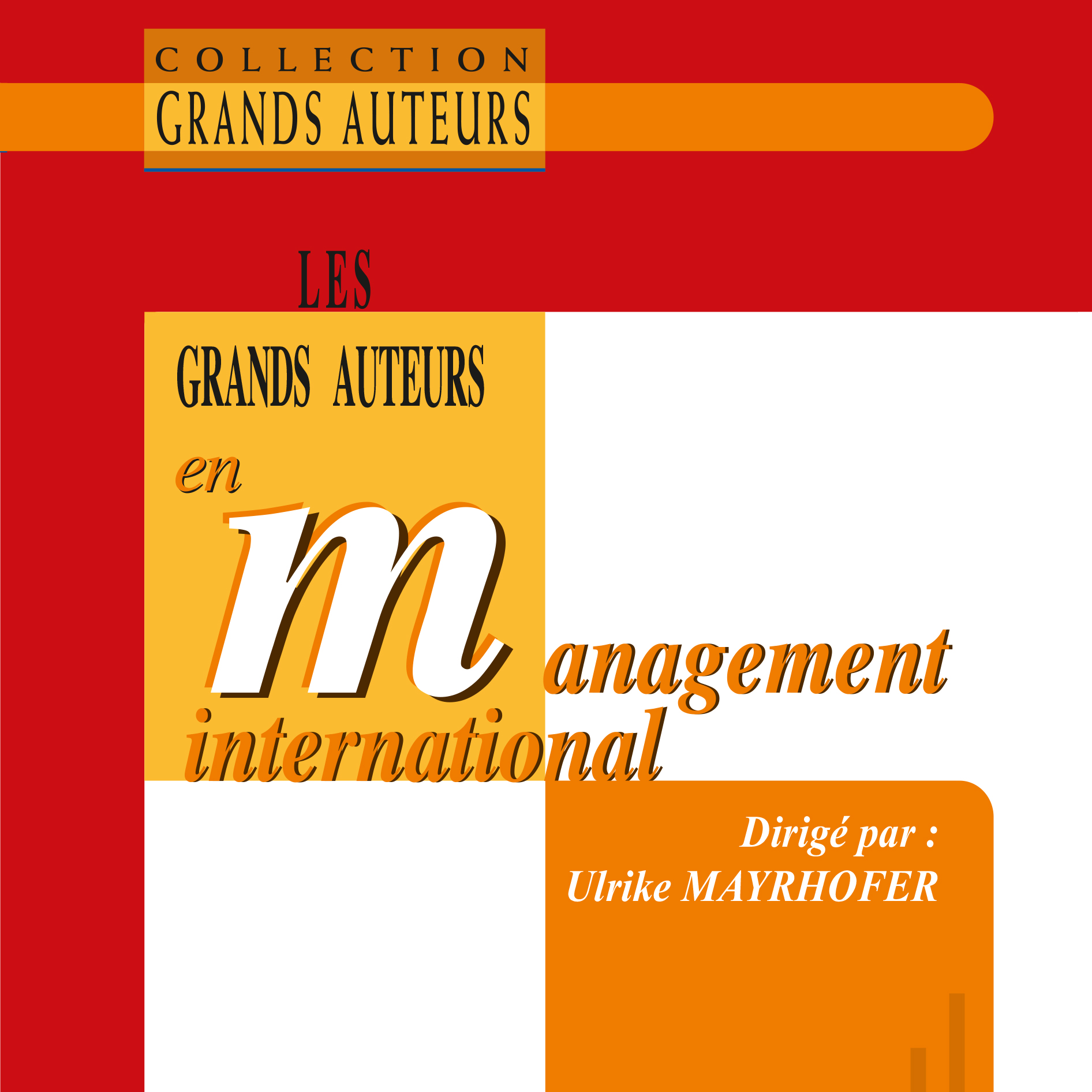 Publication : « Les Grands Auteurs en Management International »