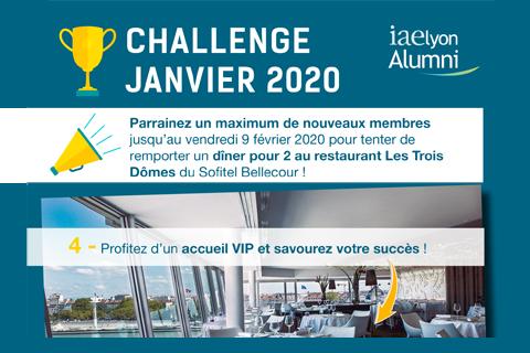 Challenge « Parrainage iaelyon Alumni »