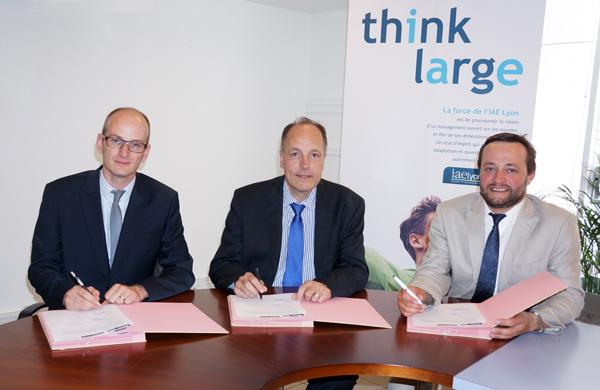 Orfis Baker Tilly signe un partenariat avec l'IAE Lyon