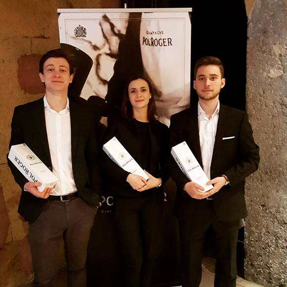 Concours œnologique Maison Pol Roger : Vitis Vinifera remporte la deuxième place
